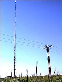 Linia SN 15 kV 3×AFl-70 zasilająca RTCN Żółwieniec