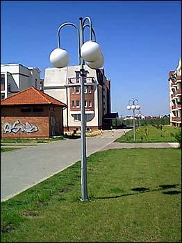 Oświetlenie naosiedlu Chorzeń wKoninie