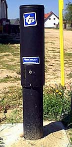 Słupek kablowy telefoniczny